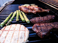 Barbeque Burgers, Steaks, Chicken & Veggies Lake Tahoe