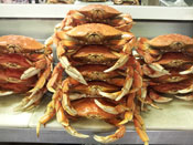 Fresh Dungeness Crabs at Overland Meat & Seafood Co. Lake Tahoe