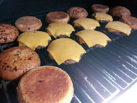 Handmade Beef and Bacon Burger Patties now available at Overland Meat & Seafood Co. Lake Tahoe