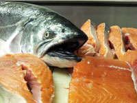 Wild Ca King Salmon now in stock at Overland Meat & Seafood Co. Lake Tahoe