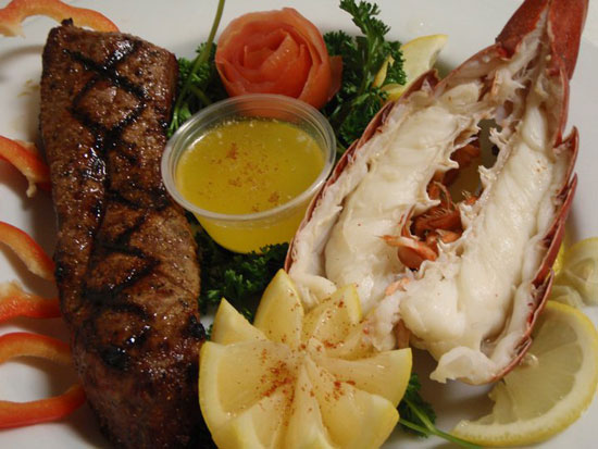 Valentine's Day Steak & Lobster Combo