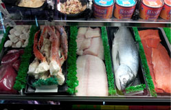 Fresh Wild Caught Seafood at Overland Meat & Seafood Co. Lake Tahoe